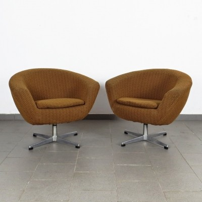Pair of Spojene UP Zavody arm chairs, 1970s