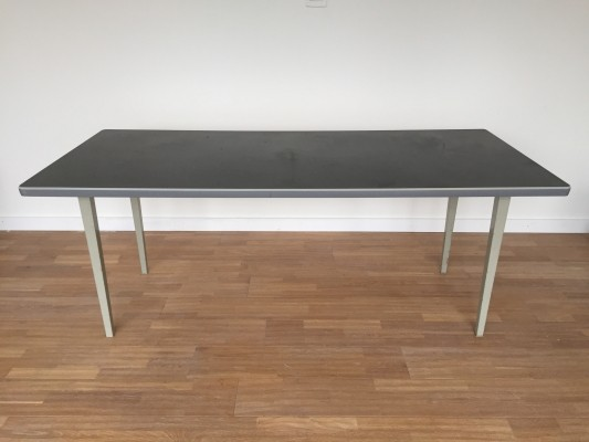 Industrial Gispen dining table, 1960s