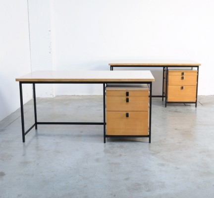 Desk by Jules Wabbes for Mobilier Universel