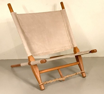 Saw lounge chair by Ole Gjerløv Knudsen, 1960s