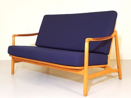 Sofa by Tove Kindt Larsen & Edvard Kindt Larsen for France & Daverkosen, 1960s