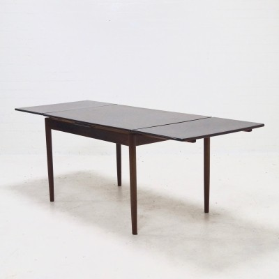 Mid-Century Extendable Rosewood Dining Table, 1960s