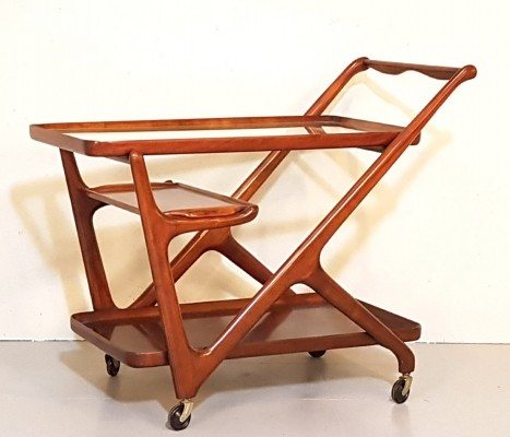 Serving trolley by Cesare Lacca for Cassina, 1960s