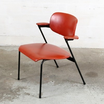 Arm chair by Willy van der Meeren for Tubax, 1950s