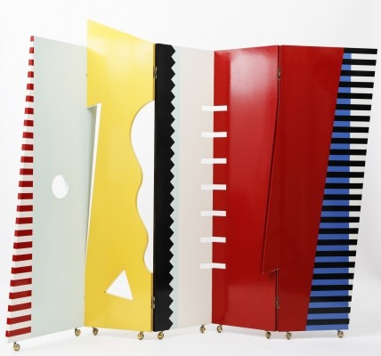 Bagatelle Folding Screen by Dan Friedman for Driade, 1990s