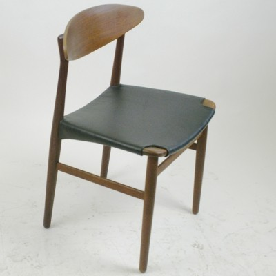Set of 6 Danish Modern Dinner Chairs