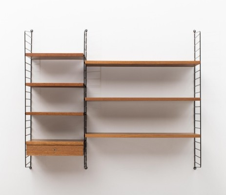 Wall unit designed by Nisse Strinning in 1950 & produced by his own company