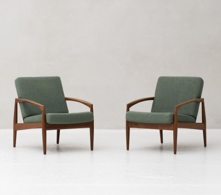 Model 121 'Paper knife' chairs by Kai Kristiansen