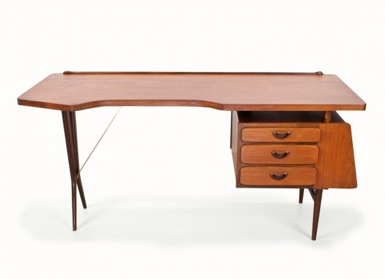 Writing desk by Louis van Teeffelen for Wébé, 1960s