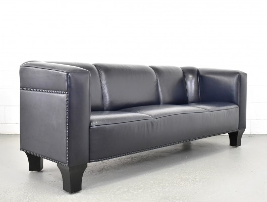Stoclet sofa by Josef Hoffmann for Wittmann, 1990s
