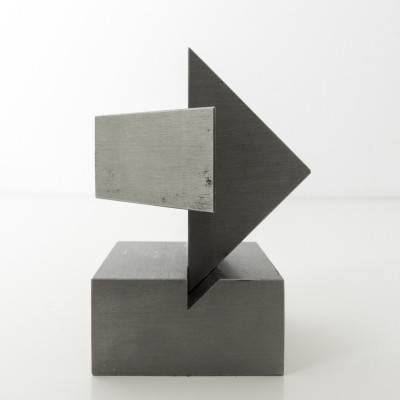 Modular sculpture by Carlo Mo for Tecno, signed & numbered, 1981