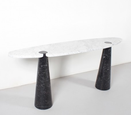 Marble 'Eros' Console by Angelo Mangiarotti, 1970s