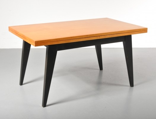 Magic table (coffee table / dining table) by DUCAL, 1950s
