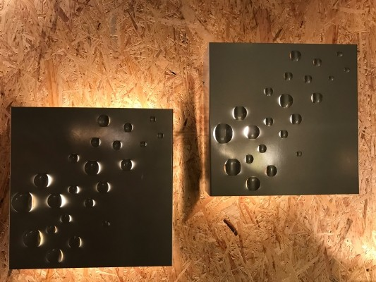 15 x Sterrenregen wall lamp by Raak Amsterdam, 1960s