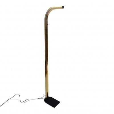 Oca Floor Lamp in gold metal by Eleusi, Italia