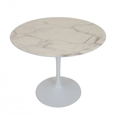 Eero Saarinen for Knoll Dining Table with Marble top, 1970s