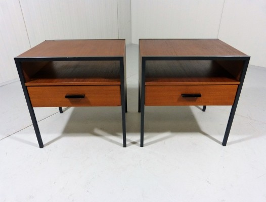 Cees Braakman Bedside Tables for Auping