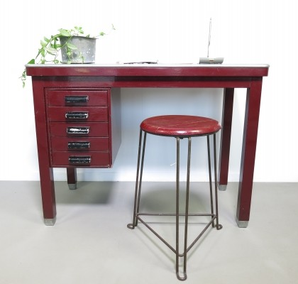 Gispen writing desk, 1950s