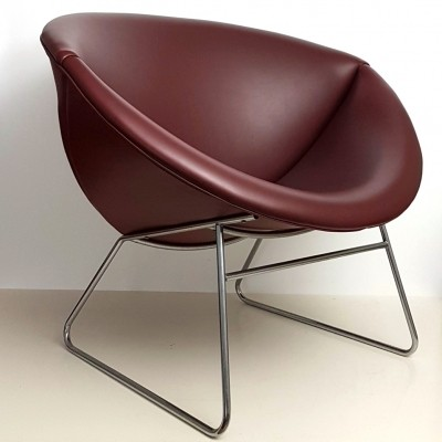 Bucket lounge chair by Rohé Noordwolde, 1950s