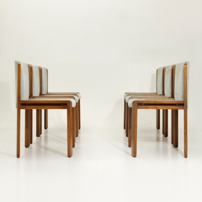 Set of 6 Model 300 dinner chairs by Joe Colombo for Pozzi, 1960s
