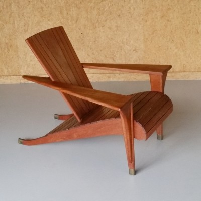 'Meditation' Chair by Klaus Wettergren for Teak Farm USA, 1990s