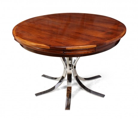Rosewood Lotus Flip-Flap Table by Dyrlund