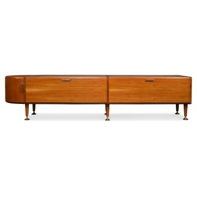 Walnut sideboard by A.A. Patijn for Zijlstra