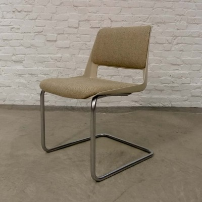 Modern Gispen Tubular Desk Chair 2717 by André Cordemeyer, 1960s