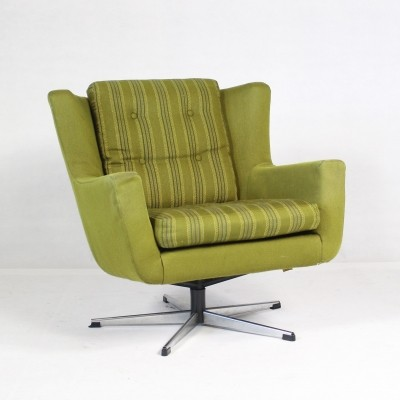 Vintage Swivel Chair by Skjold Sorensen, 1960s