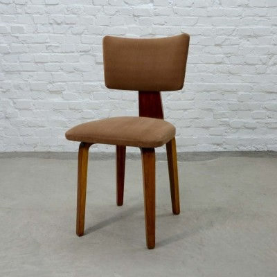 Dutch Design Plywood Side Chair by Cor Alons for Den Boer, 1950s