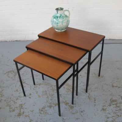 Pastoe nesting table, 1960s