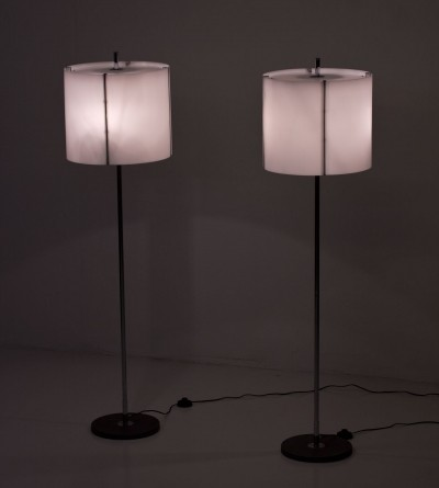 Pair of G103 floor lamps by Hans Agne Jakobsson, 1960s