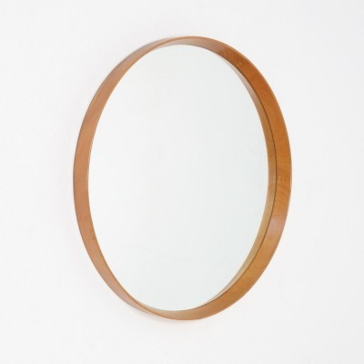 Swedish Hanging Mirror by U. & O. Kristiansson for Luxus