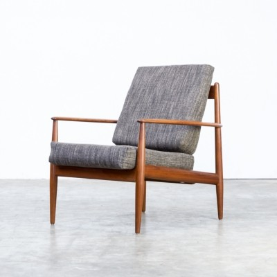 Grete Jalk 'model 118' lounge easy fauteuil for France & Son, 1960s