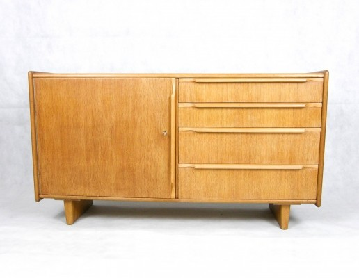 Oak series sideboard by Cees Braakman for Pastoe, 1950s
