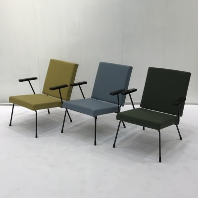 15 x model 1407 arm chair by Wim Rietveld & André Cordemeyer for Gispen, 1960s