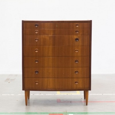 Tallboy chest of drawers, 1950s
