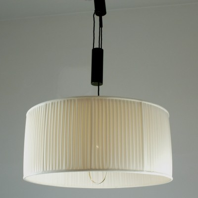Austrian Midcentury Adjustable Hanging Lamp by J.T. Kalmar