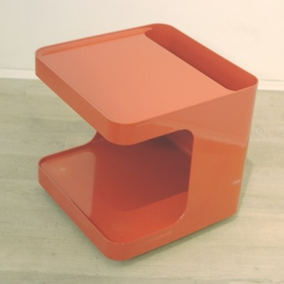 Red Italian Bar Trolley by Marcello Siard for Game
