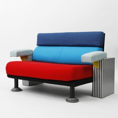 Lido sofa by Michele De Lucchi for Memphis Milano, 1980s