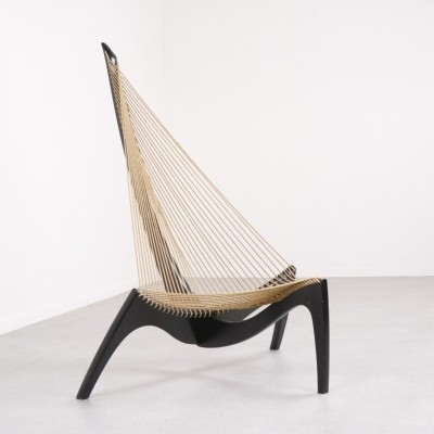 'Harp' lounge chair by Jørgen Høvelskov for Christensen & Larsen, 1968