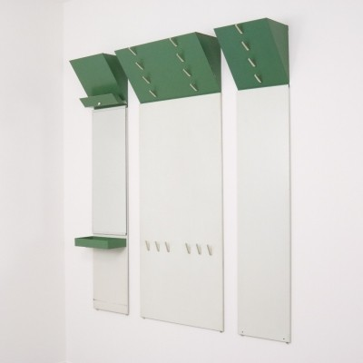 Rare Tjerk Reijenga coat rack / wardrobe for Pilastro, 1950s