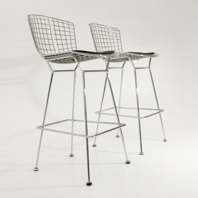 Pair of stools by Harry Bertoia for Knoll International, 1950s