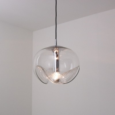 Large hanging lamp by Peill & Putzler, 1970s
