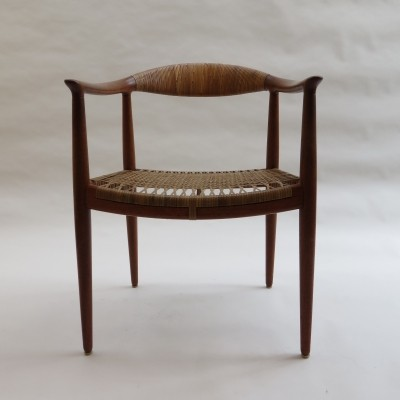 JH501 dinner chair by Hans Wegner for Johannes Hansen, 1950s