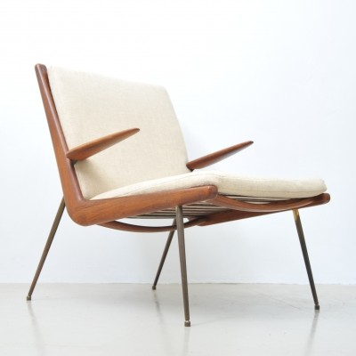 Modell 159 lounge chair by Peter Hvidt for France & Son, 1950s