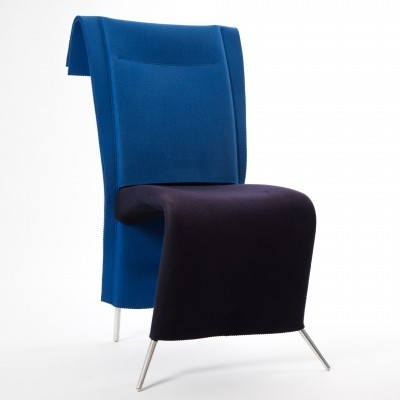 Filka chair made of felt by Borek Sipek for Scarabas, 1999