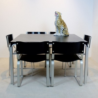 Dining set by Pierre Mazairac for Pastoe, 1970s