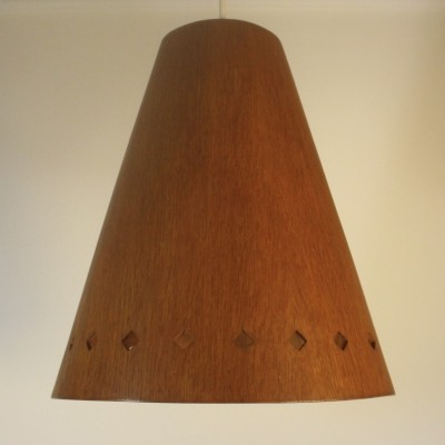 Model 565 hanging lamp by Uno & Östen Kristiansson for Luxus Vittsjö, 1950s