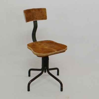vintage office chair. Vintage Office Chair, 1950s Chair